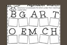 Alphabets Worksheets for Kindergarten 4