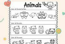 Amazing Free Kindergarten English Book Exercises For Kids 2