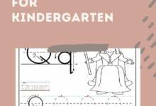 Blank Worksheets For Kindergarten 6