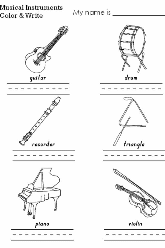 Creating Funky Worksheets for Kindergarten Music 3