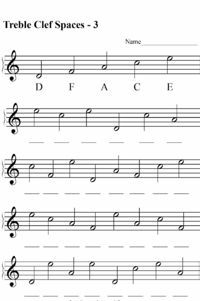 Creating Funky Worksheets for Kindergarten Music 5