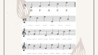 Creating Funky Worksheets for Kindergarten Music 6