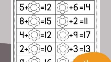 Free Kindergarten Math Worksheets For kindergarten 2