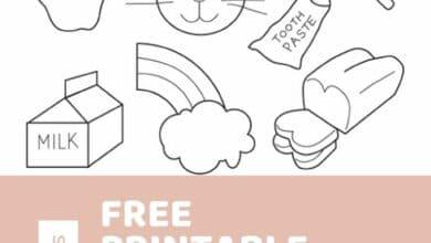 Free Printable Kids Activities Sheets 2