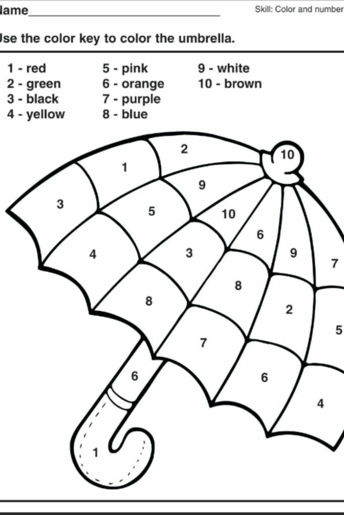 Free Printable Kindergarten Worksheets 5