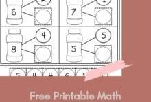 Free Printable Math Kindergarten Worksheets 2