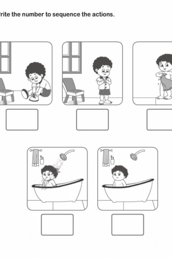 Free Printable Worksheets For Kindergarten Events 5