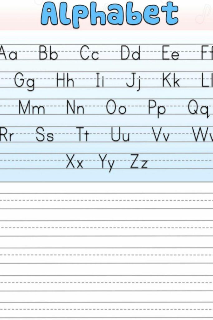 Kindergarten Alphabet Worksheets 1