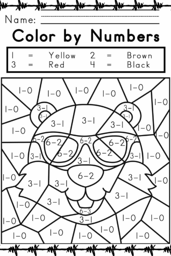 Kindergarten Language Arts Worksheets 1