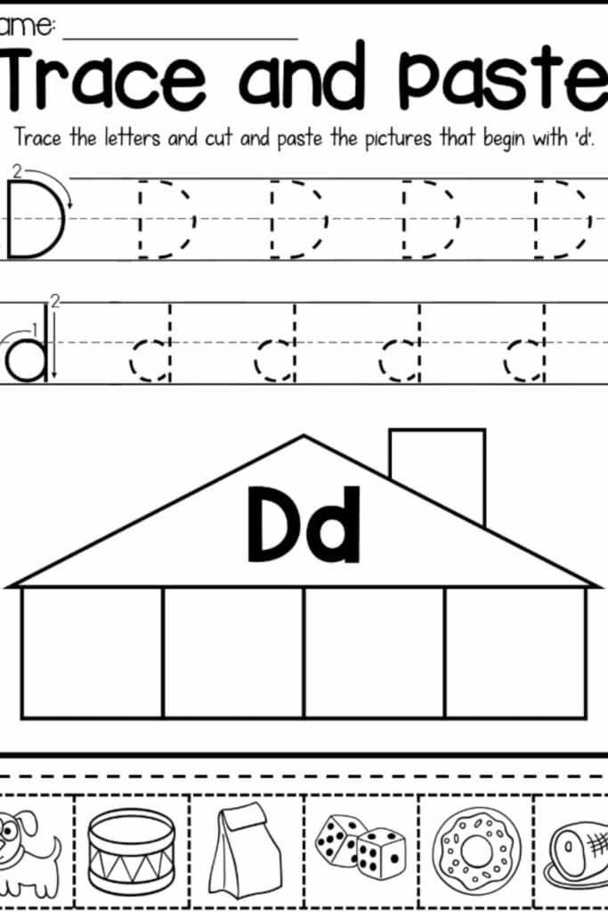 Pre Kindergarten Alphabet Worksheets 5