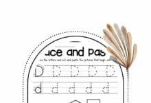 Pre Kindergarten Alphabet Worksheets 6