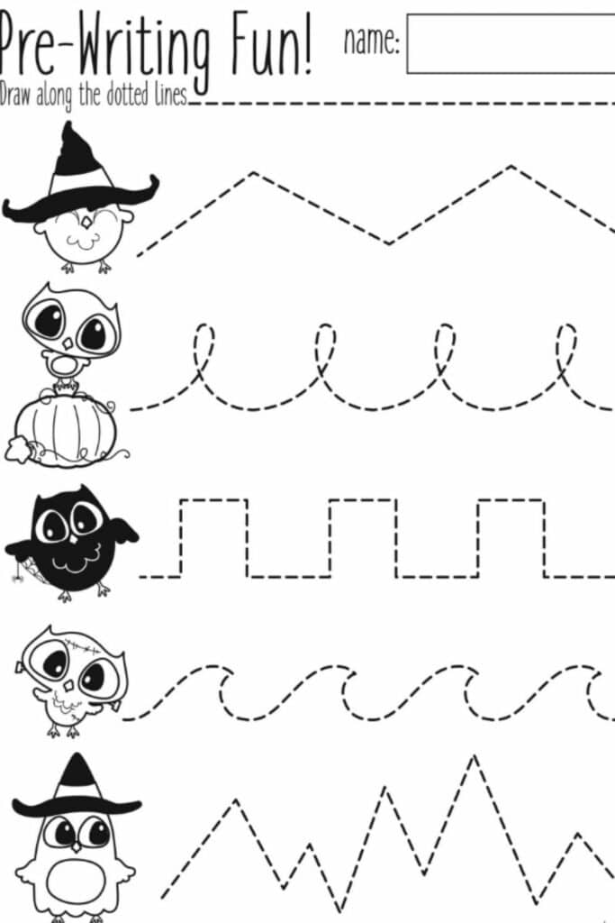 Printable Pre Kindergarten 3