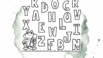 Printable Preschool Alphabet Worksheets 4