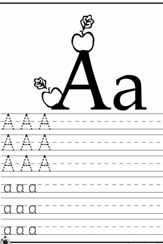 Printable Preschool Alphabet Worksheets 5