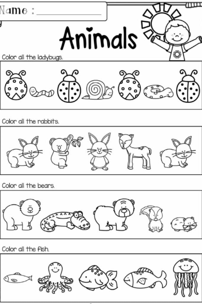 The Benefits of Kindergarten Literacy Worksheets 3