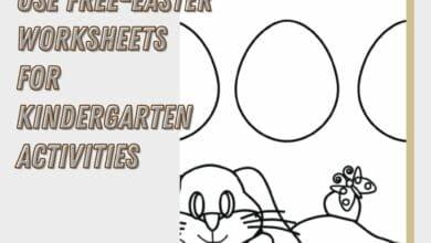 Use Free-Easter Worksheets For Kindergarten Activities 4