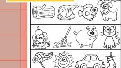 Using Rhyming Worksheets For Kindergarten 4