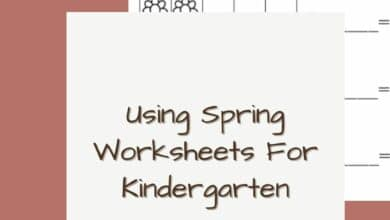Using Spring Worksheets For Kindergarten 4