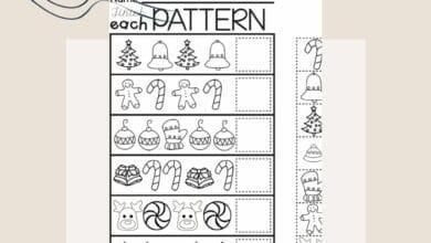 Using Winter Worksheets For Kindergarten 4