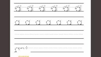 Writing Worksheets For Kindergarten Students 6