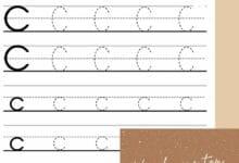 kindergarten handwriting worksheets 2