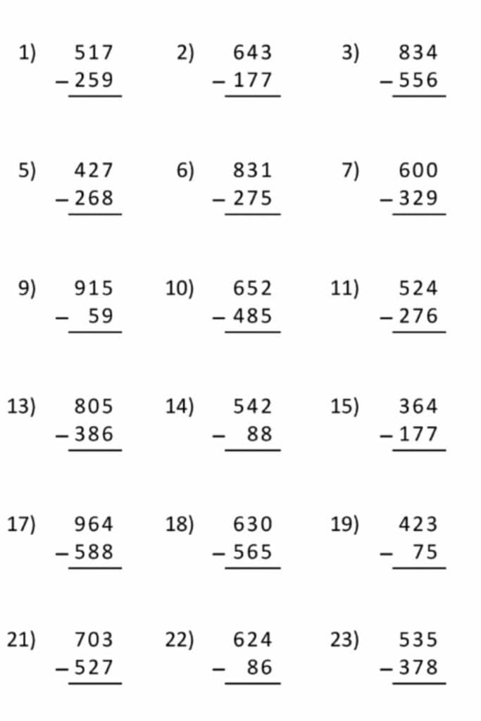 An Easy Way For 7th Graders to Learn Adding and Subtracting Intricacies 3