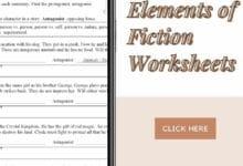 Elements of Fiction Worksheets 2
