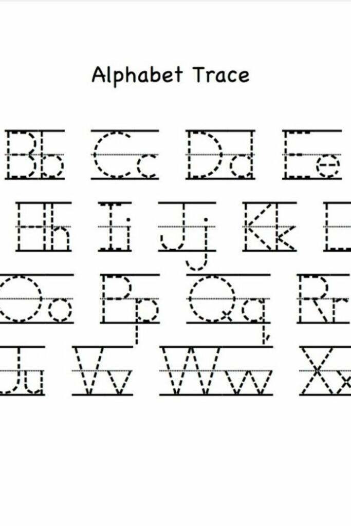 Free Alphabet Mapping Worksheets For Preschoolers 3