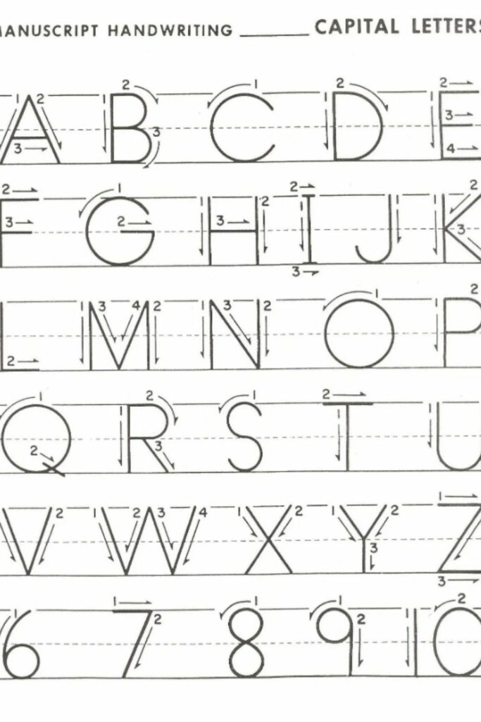 Free Alphabet Mapping Worksheets For Preschoolers 5