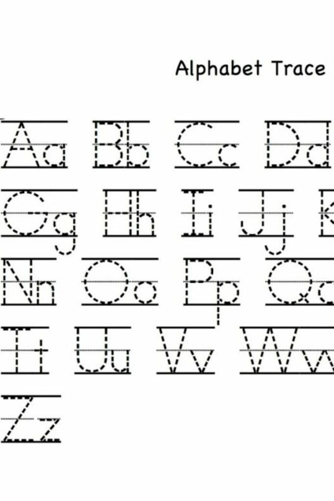 Free Printable Alphabet Mapping Letters 3