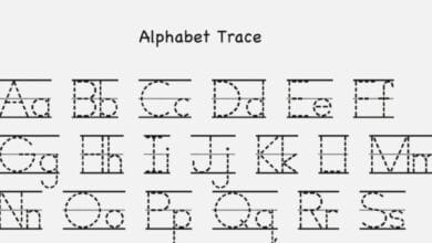 Free Printable Alphabet Mapping Letters 4