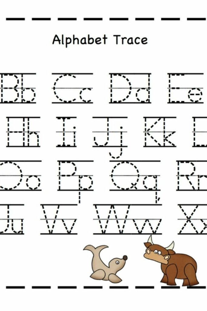 Free Printable Alphabet Mapping Letters 5