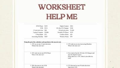How Can a Sales Tax Worksheet Help Me 6