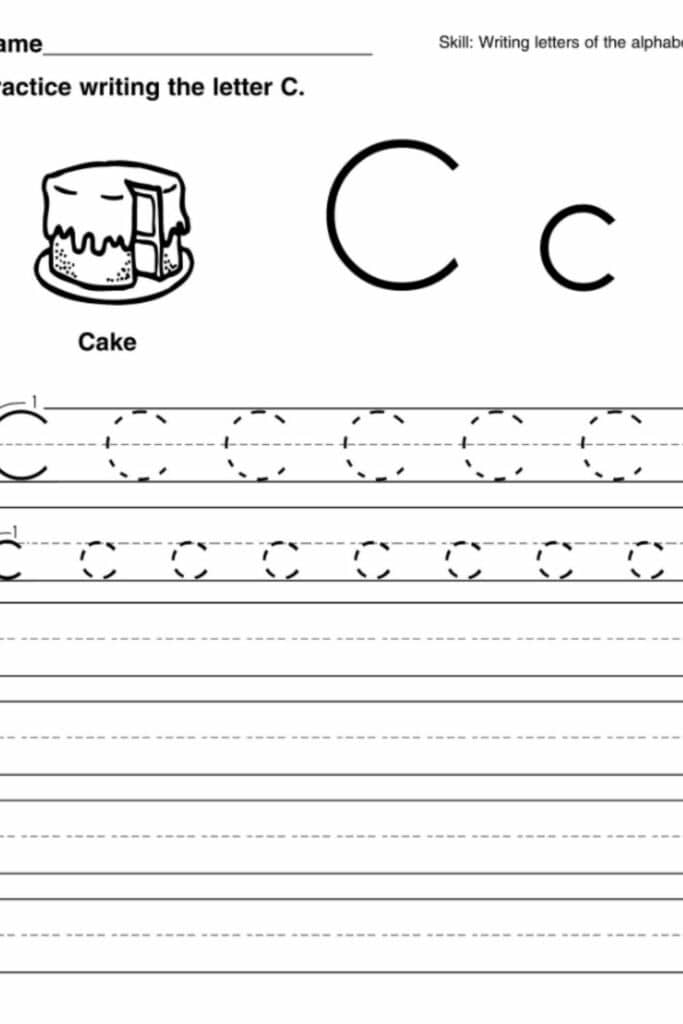 How to Make Worksheets For Preschool Kids Learn Faster 3