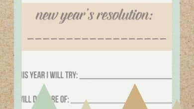 How to Make the Most of Your New Year's Resolution Worksheet This Year 6