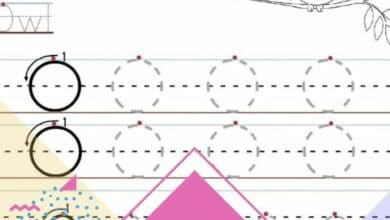 Letter Mapping Worksheets 4