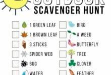 Making a Scavenger Hunt Worksheet 2