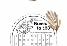 Mapping Numbers 1-100 4