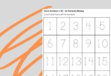 Number Mapping Worksheets Totally Complimentary 6
