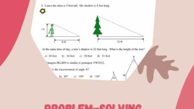 Problem-solving With Similar Figures Worksheet Answers 4