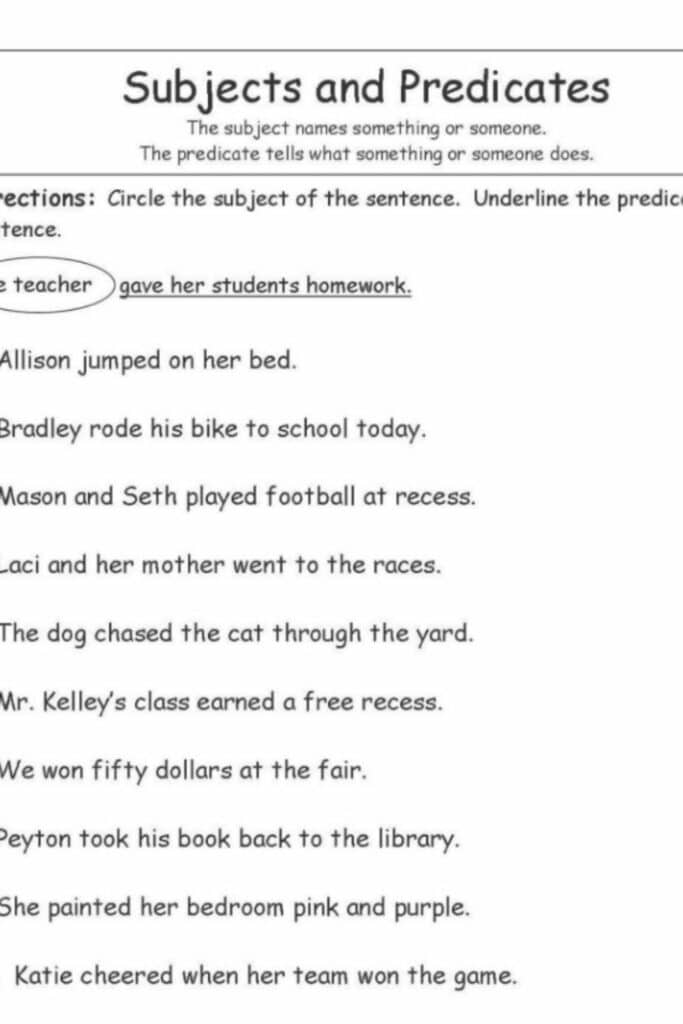 The Importance of Using a Complete Subject Worksheet for Science Projects 3