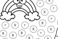 Spot and dot letter worksheets FREE printable alphabet