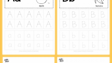 Alphabet Tracing Activities For Letter A To Z
