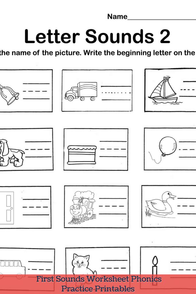 Letter Sounds Worksheets
