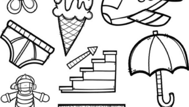 Beginning sounds colouring pages