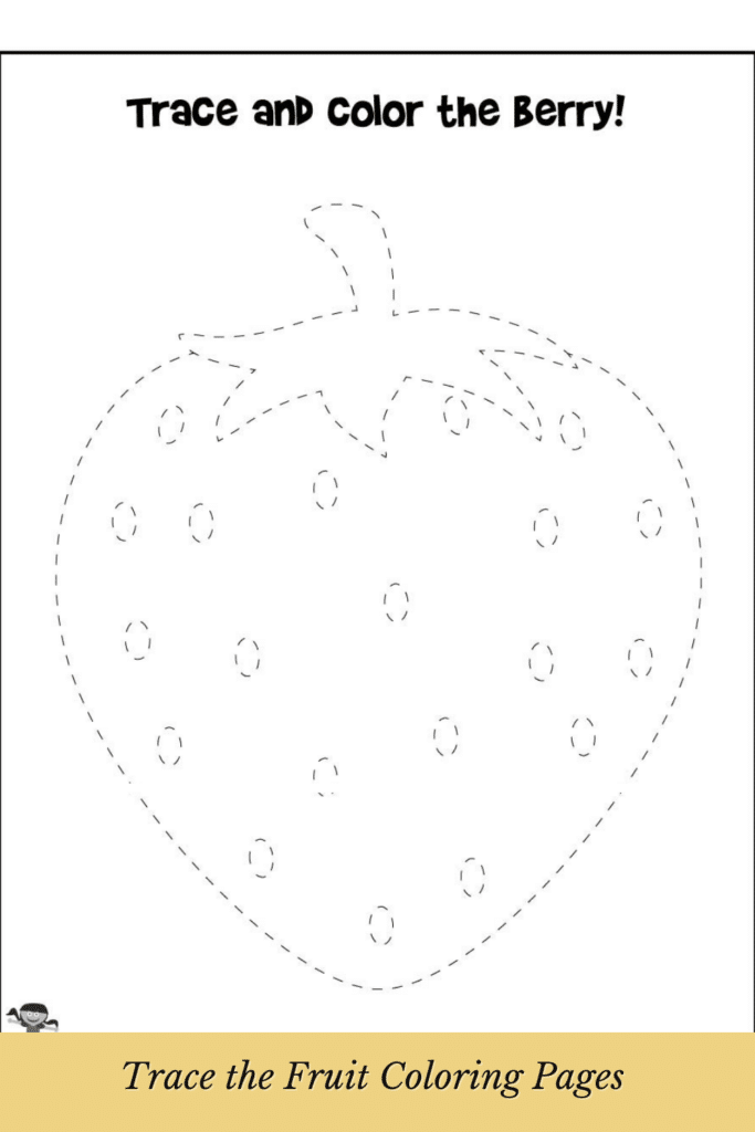 Tracing Fruits and Vegetables