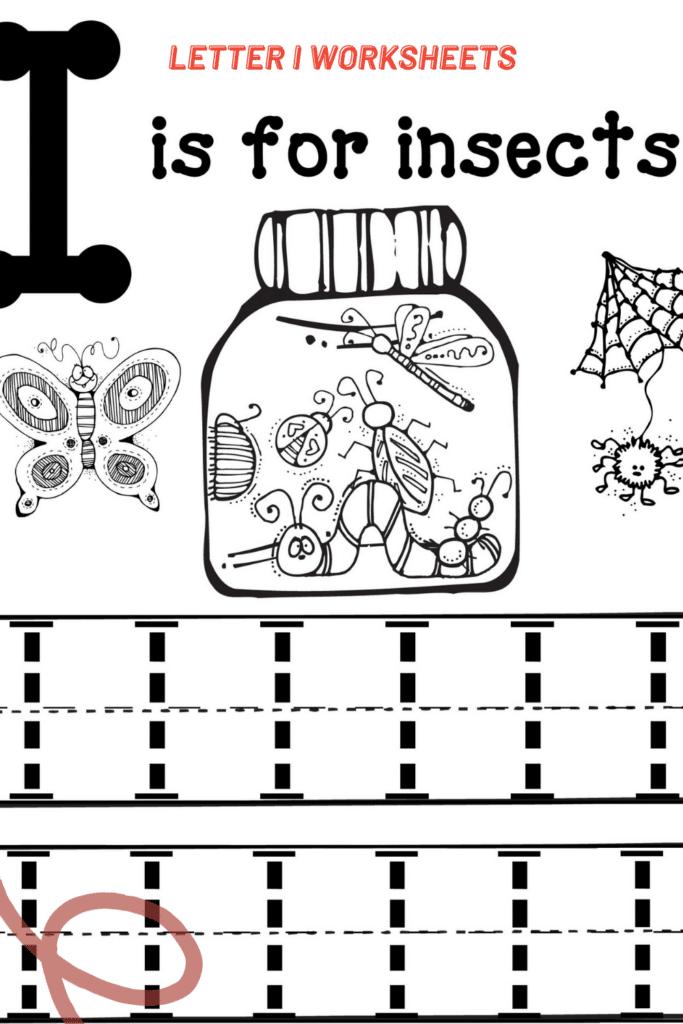 Letter I Worksheets Kindergarten