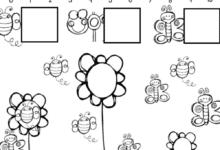 Spring Kindergarten Math and Literacy Printable Worksheets