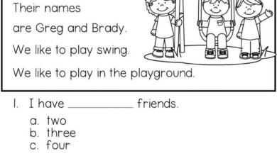 Free Printable Reading Comprehension for Kids
