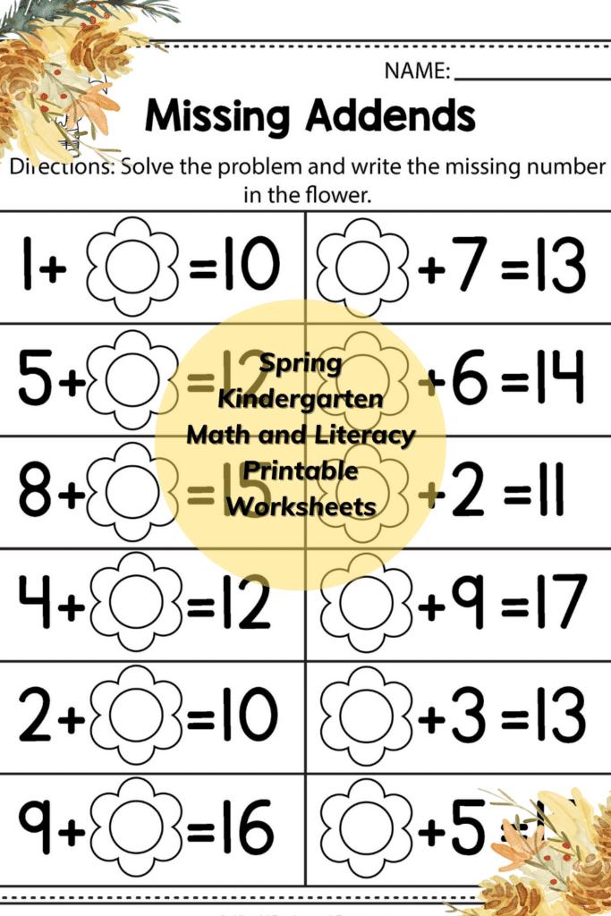 Spring Math Worksheets 2nd Grade